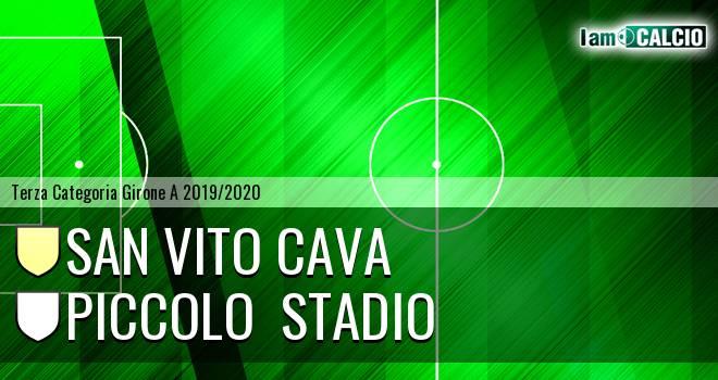 San Vito Cava - Piccolo  stadio