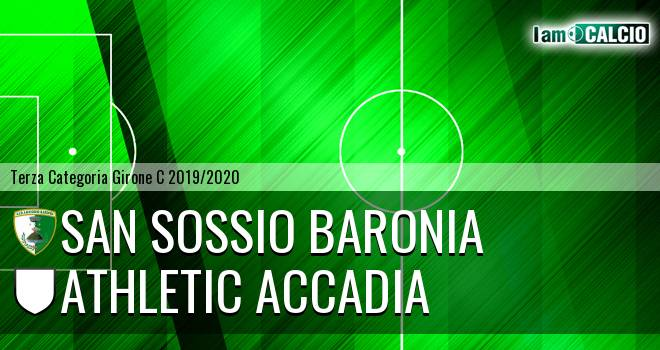 San Sossio Baronia - Athletic Accadia