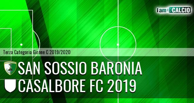 San Sossio Baronia - Casalbore FC 2019