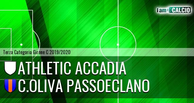 Athletic Accadia - C.Oliva Passoeclano