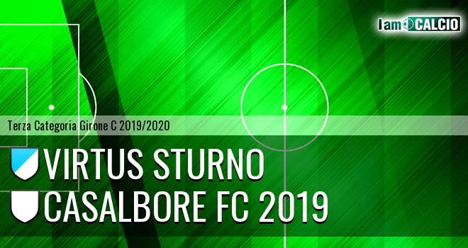 Virtus Sturno - Casalbore FC 2019