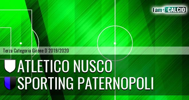 Atletico Nusco - Sporting Paternopoli