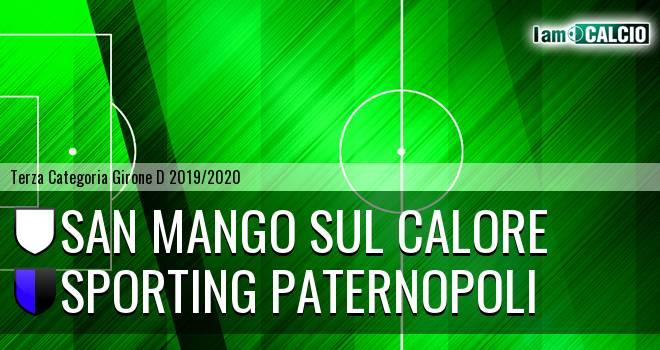 San Mango sul Calore - Sporting Paternopoli