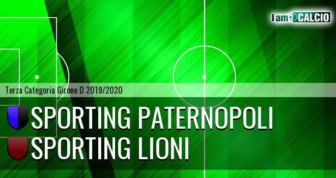 Sporting Paternopoli - Sporting Lioni