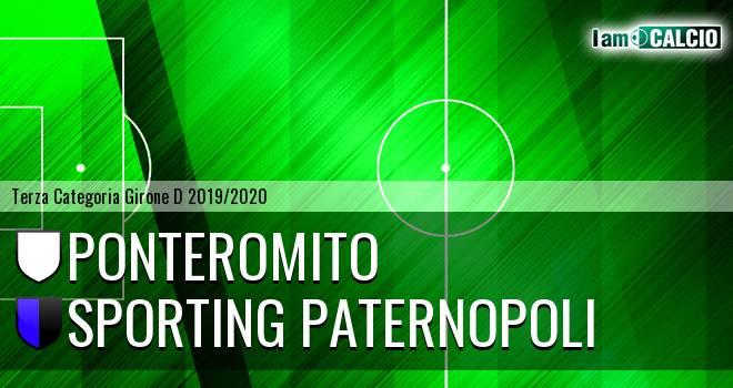 Ponteromito - Sporting Paternopoli