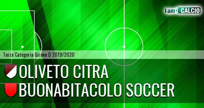 Oliveto Citra - Buonabitacolo Soccer