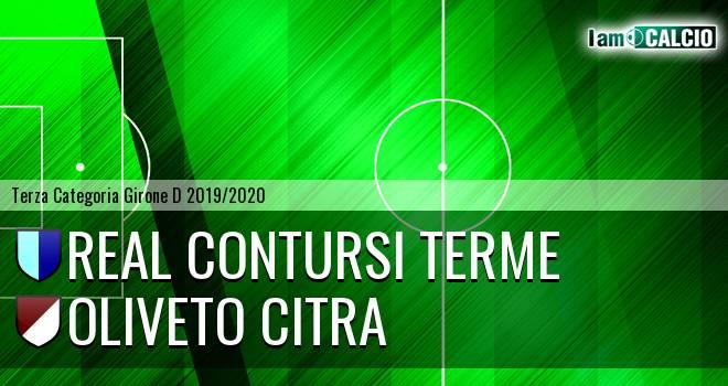 Real Contursi Terme - Oliveto Citra