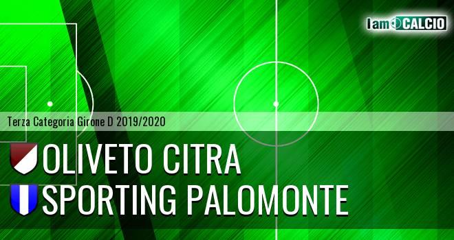 Oliveto Citra - Sporting Palomonte