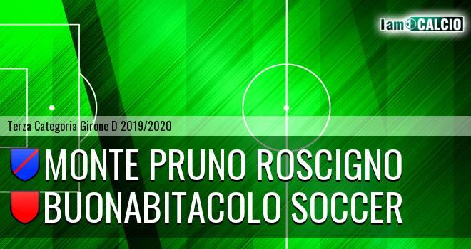 Monte Pruno Roscigno - Buonabitacolo Soccer