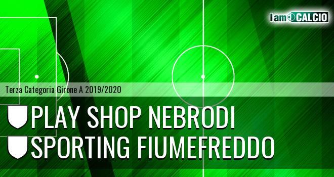 Play Shop Nebrodi - Sporting Fiumefreddo