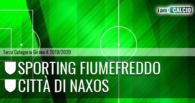 Sporting Fiumefreddo - Città di Naxos