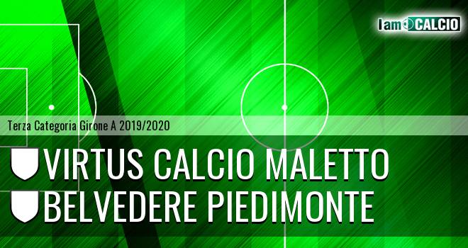 Virtus Calcio Maletto - Belvedere Piedimonte