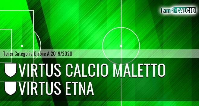 Virtus Calcio Maletto - Virtus Etna