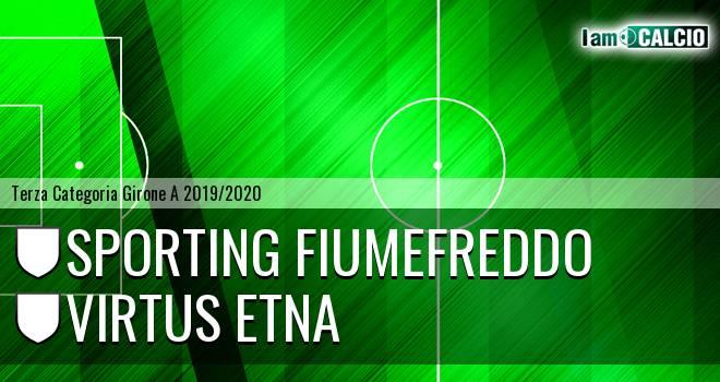 Sporting Fiumefreddo - Virtus Etna