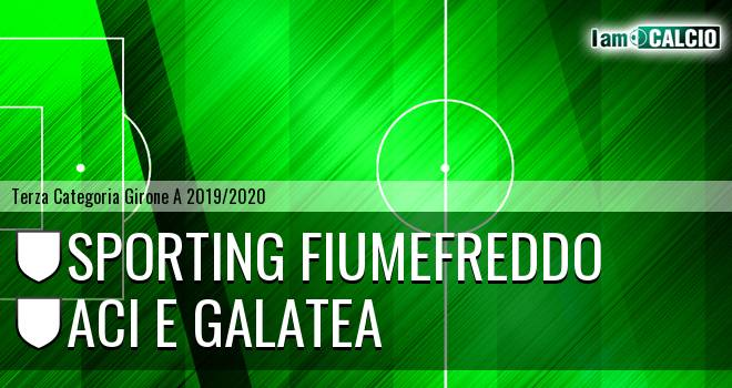 Sporting Fiumefreddo - Aci e Galatea
