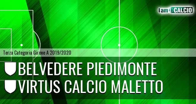Belvedere Piedimonte - Virtus Calcio Maletto
