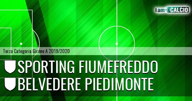 Sporting Fiumefreddo - Belvedere Piedimonte