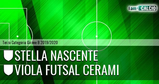 Stella Nascente - Viola Futsal Cerami