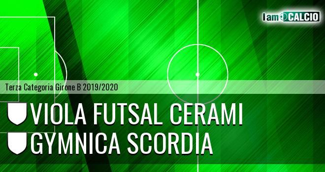 Viola Futsal Cerami - Gymnica Scordia