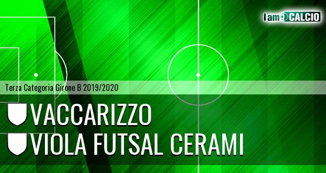 Vaccarizzo - Viola Futsal Cerami