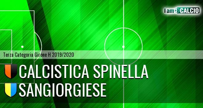 Calcistica Spinella - Sangiorgiese