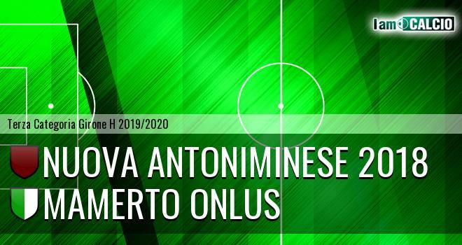 Nuova Antoniminese 2018 - Mamerto Onlus