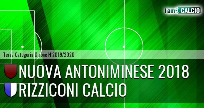 Nuova Antoniminese 2018 - Rizziconi Calcio