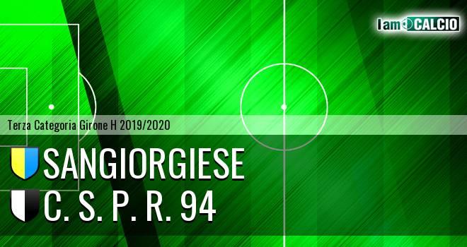 Sangiorgiese - C. S. P. R. 94
