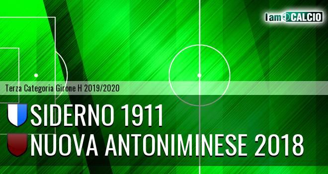 Siderno 1911 - Nuova Antoniminese 2018