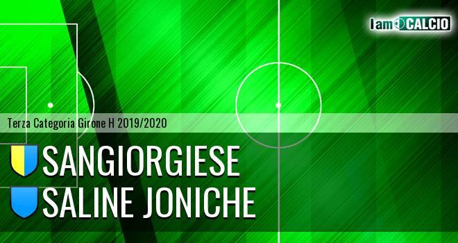 Sangiorgiese - Saline Joniche