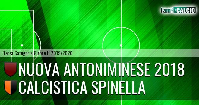 Nuova Antoniminese 2018 - Calcistica Spinella