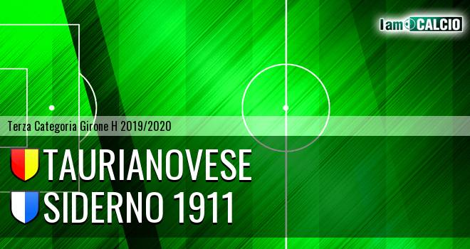 Asisport Taurianovese - Siderno 1911