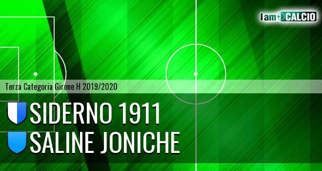 Siderno 1911 - Saline Joniche