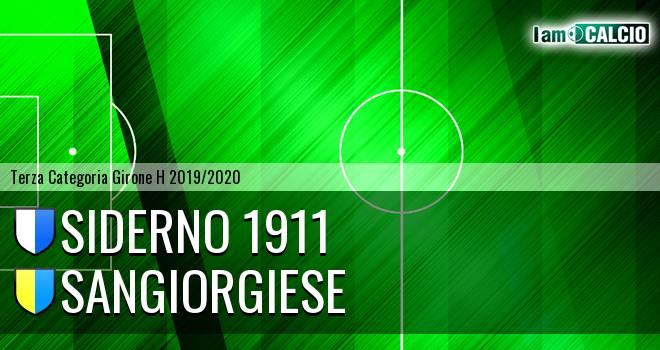 Siderno 1911 - Sangiorgiese