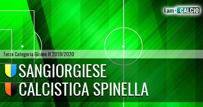 Sangiorgiese - Calcistica Spinella