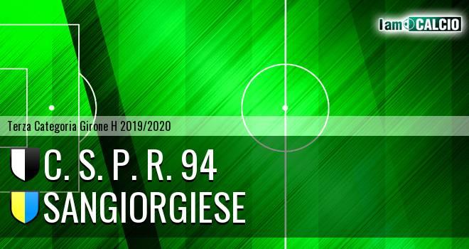 C. S. P. R. 94 - Sangiorgiese
