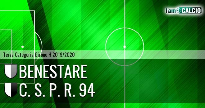 Benestare - C. S. P. R. 94