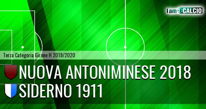 Nuova Antoniminese 2018 - Siderno 1911