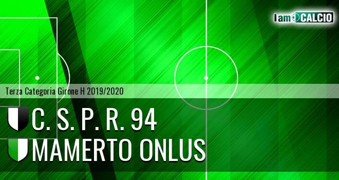 C. S. P. R. 94 - Mamerto Onlus