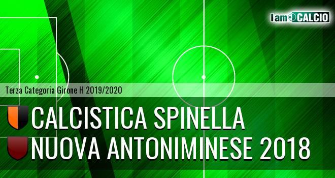 Calcistica Spinella - Nuova Antoniminese 2018