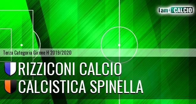 Rizziconi Calcio - Calcistica Spinella