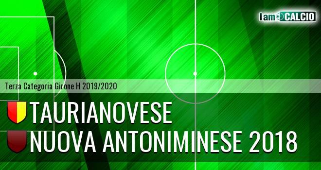Asisport Taurianovese - Nuova Antoniminese 2018