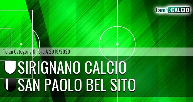 Sirignano Calcio - San Paolo Bel Sito
