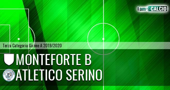 Monteforte B - Atletico Serino