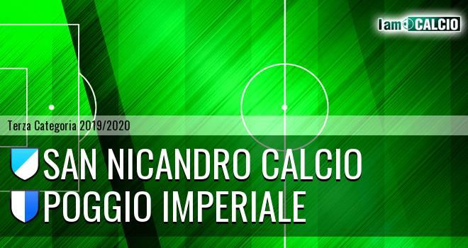 San Nicandro Calcio - Poggio Imperiale
