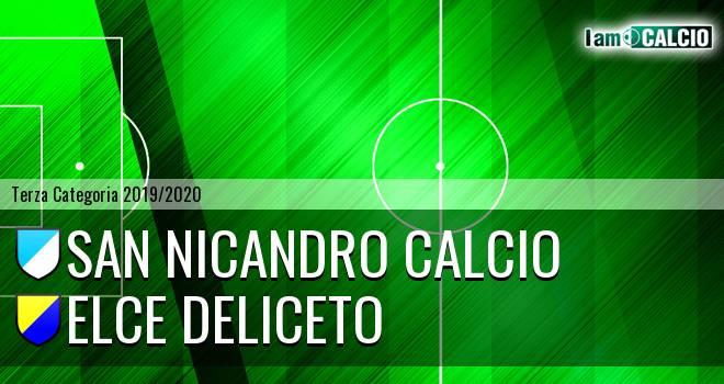San Nicandro Calcio - Elce Deliceto