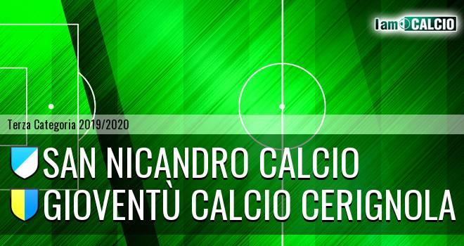 San Nicandro Calcio - Gioventù Calcio Cerignola