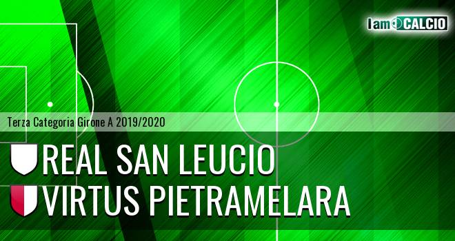 Real San Leucio - Virtus Pietramelara