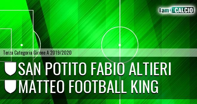 San Potito Fabio Altieri - Matteo Football King