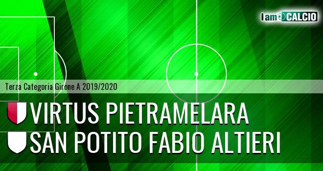 Virtus Pietramelara - San Potito Fabio Altieri